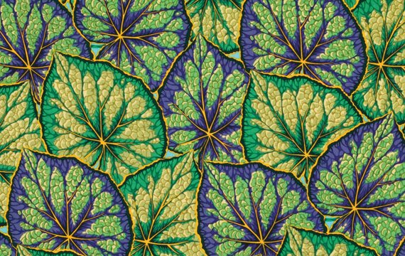 Begonia Leaves Green 1,14m*13,7m - 40.00 lei